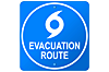 Evacuation Route Icon