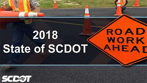 State of SCDOT cover slide